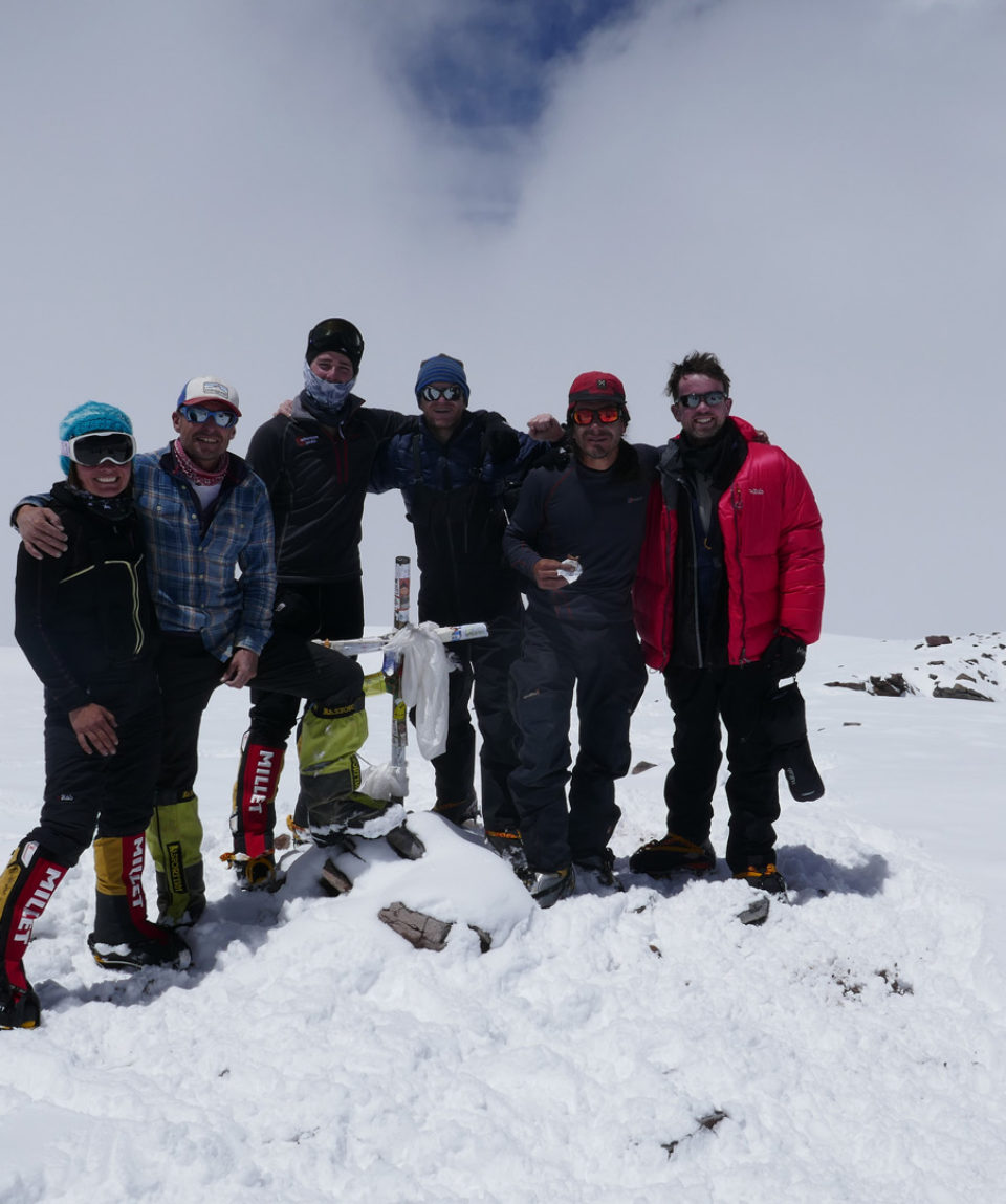 a snowy summit this time