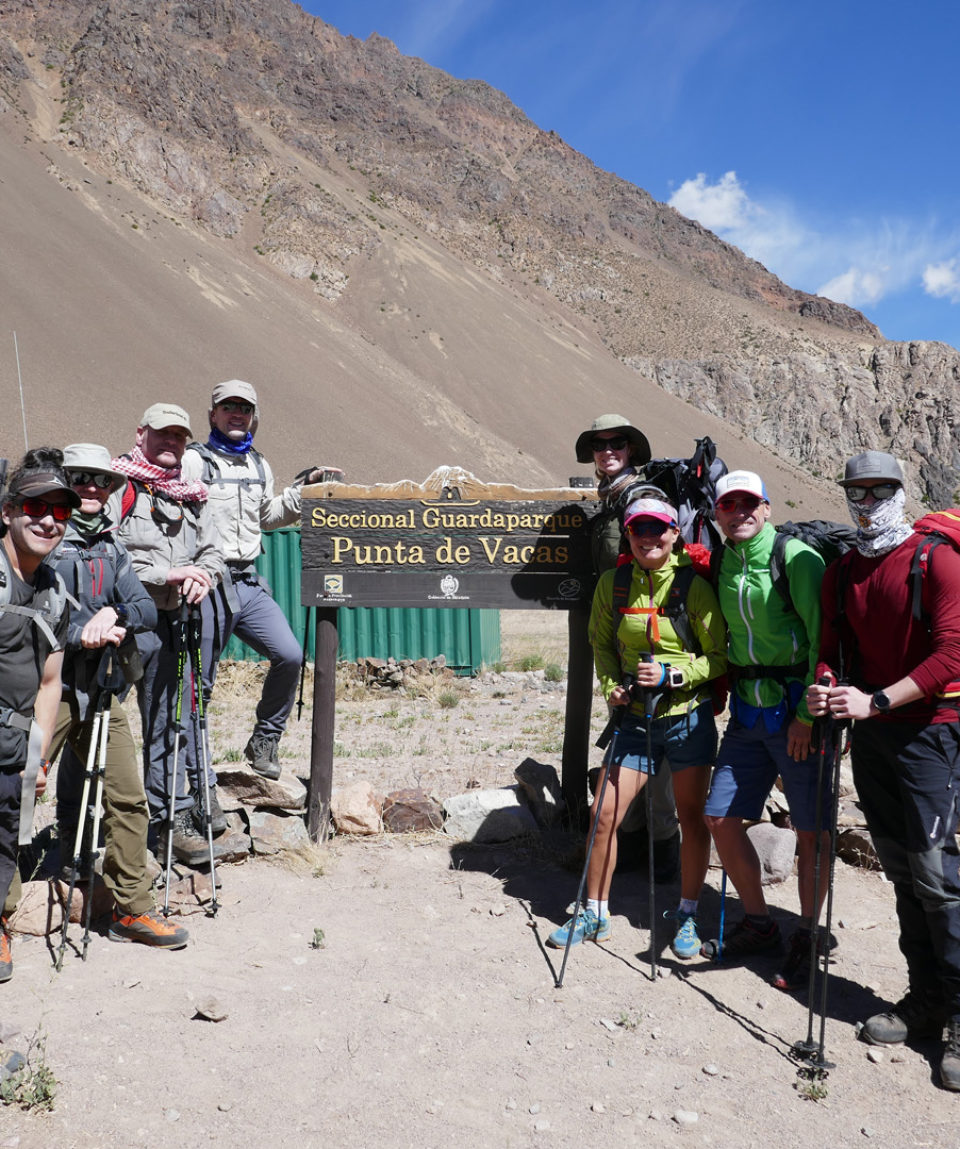 happy at the start of day 1 of the trek