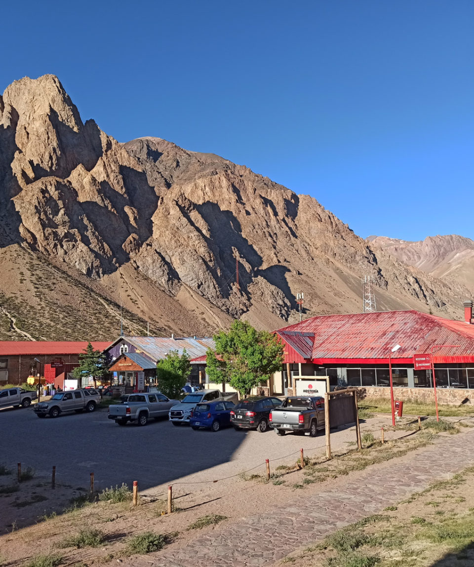 penitentes ski resort - a good place to acclimatise