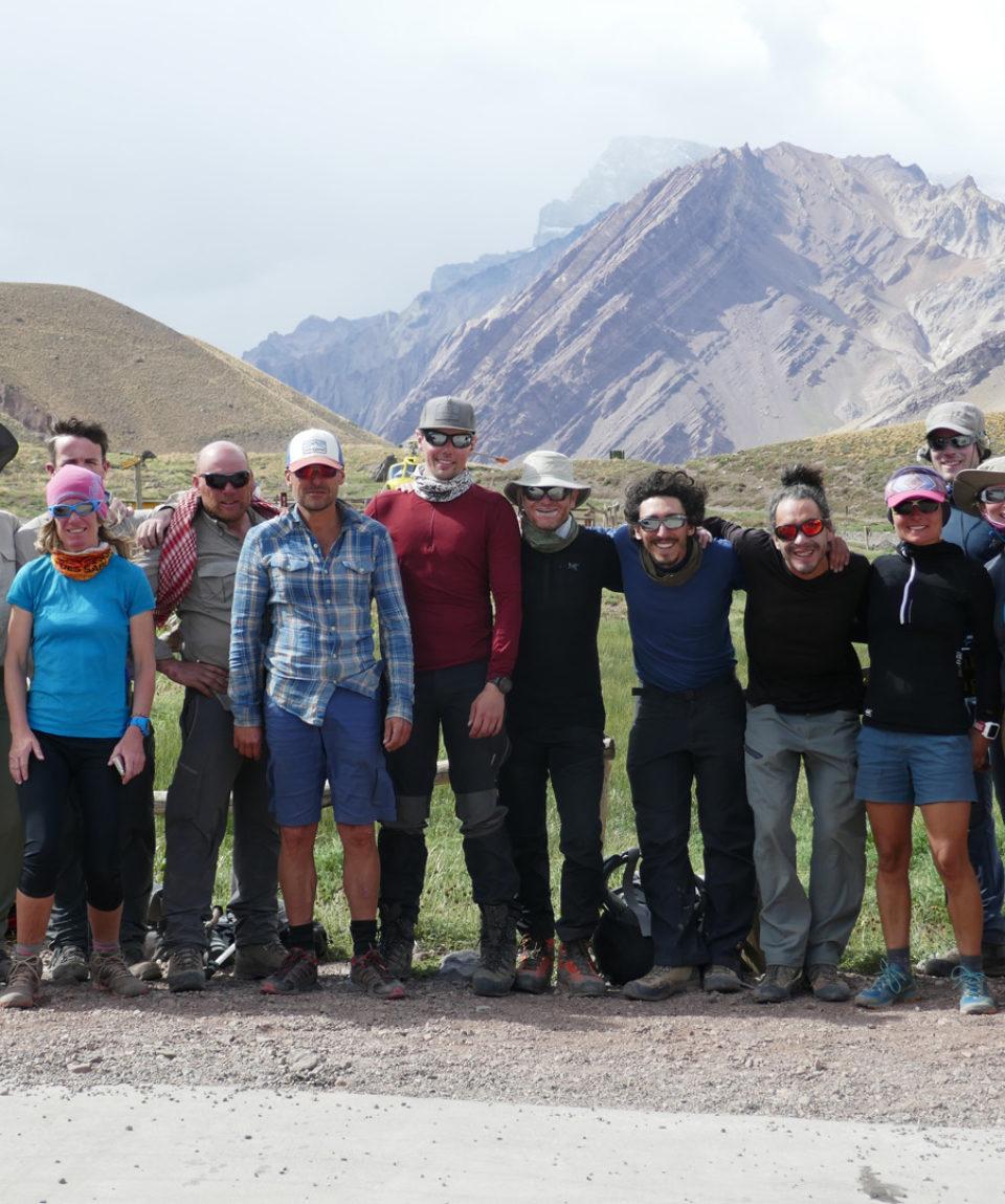 success on finishing the trek backout to the roadhead