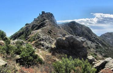 Approaching col de Rumplissa