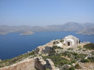 Aghios Konstantines overlooking Kalymnos mainland