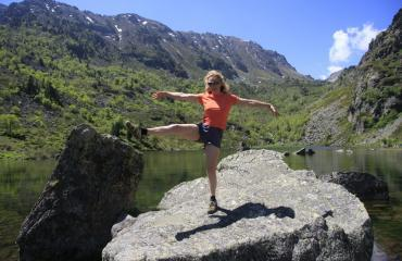Mountain lakes are fun!
