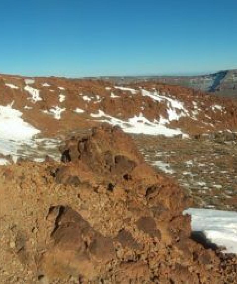 Panorama plateau