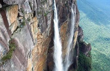 View from the top of Angel Falls