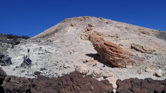 Near the Summit of Tiede