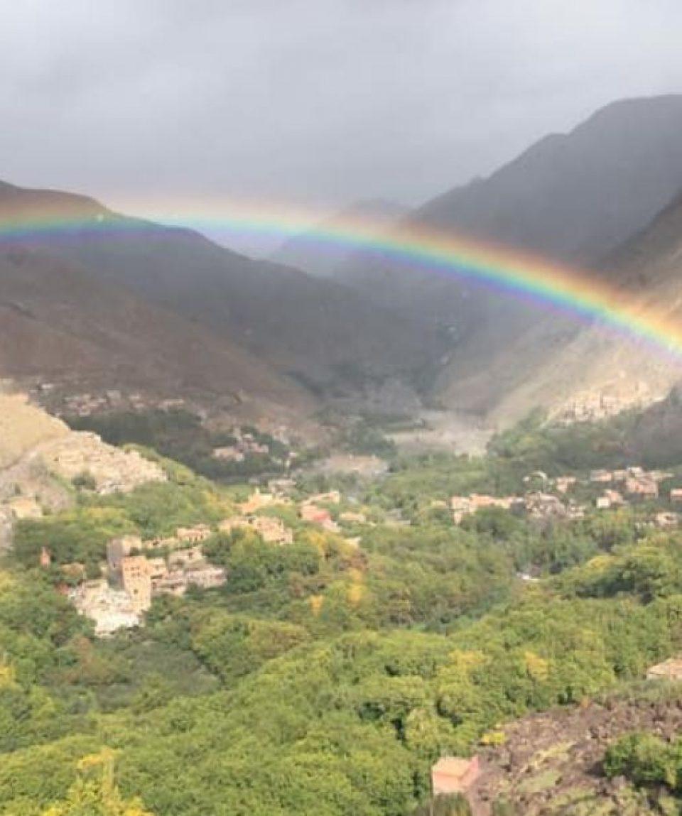 Toubkal rainbow